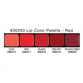 PALETA LIP COLORS: RED